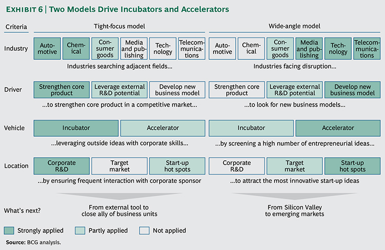 Incubator and Accelerator Models